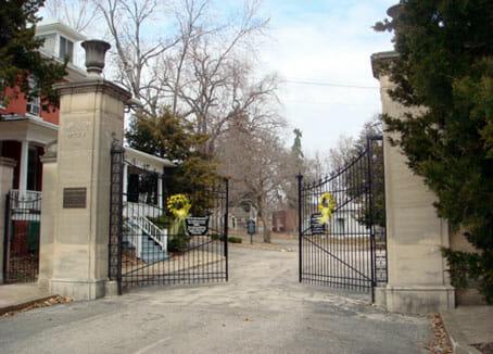 Mount Mora entrance