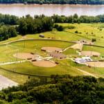 Aerial of Heritage Park