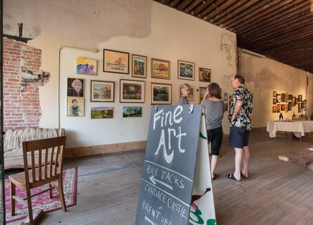 Fine art and galleries