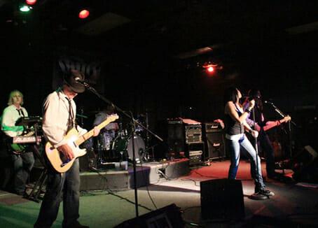 HammerJacks Stage View